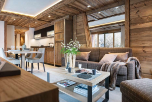Cosy chalet in a high-end residence